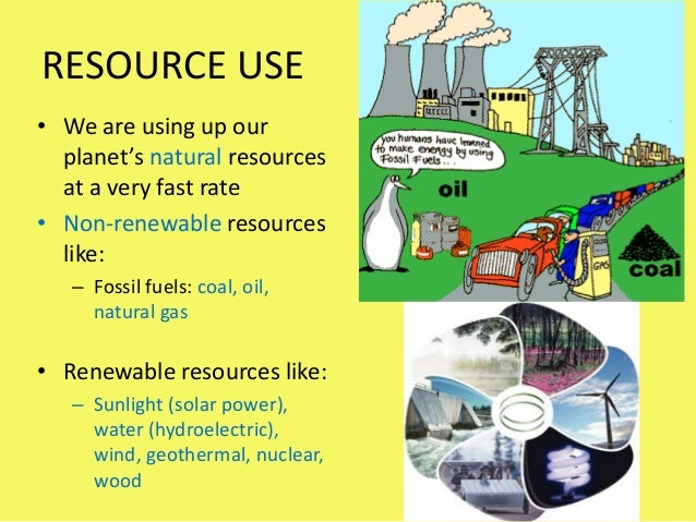 How Fast Are We Using Up Our Natural Resources