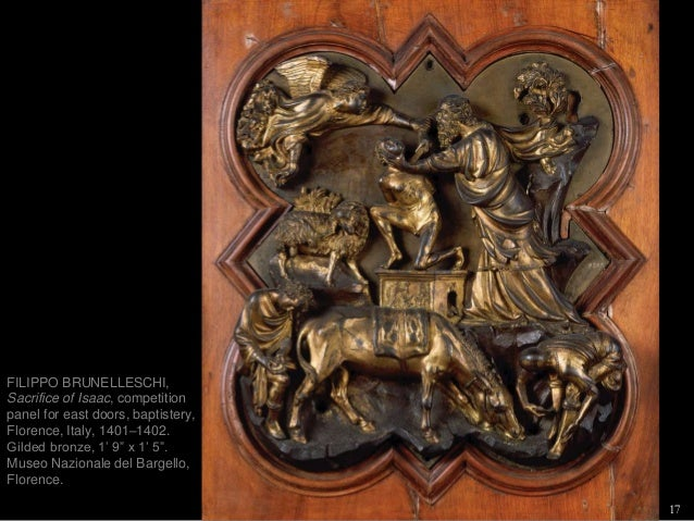 16; 17. 17 FILIPPO BRUNELLESCHI ... & Humanism and the Allure of Antiquity PART 1