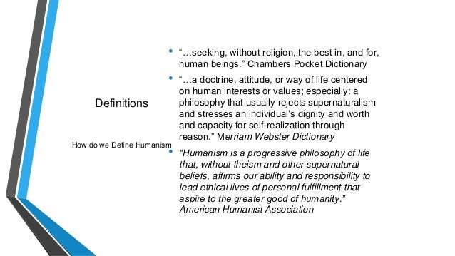 essay on humanism is the best religion