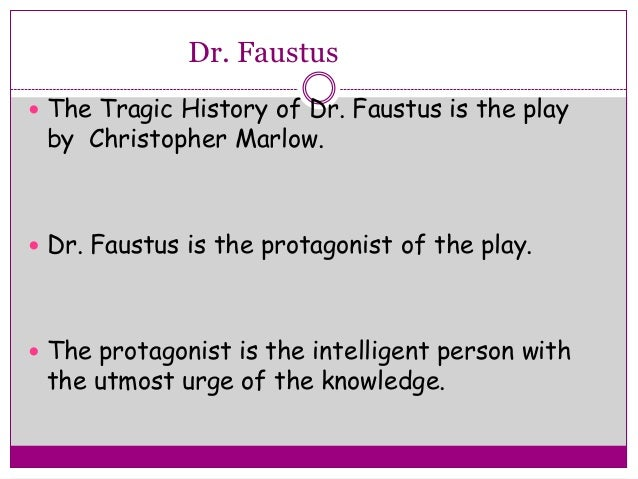 "'""DOCTOR FAUSTUS"": ITS TRAGIC CONFLICT"