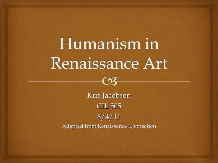 Humanism in the renissance
