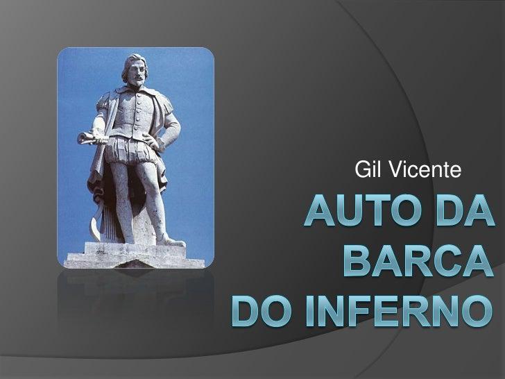 Gil Vicente<br />Auto da Barcado Inferno<br />