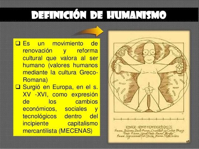 Humanismo - Renacimiento Slide 2