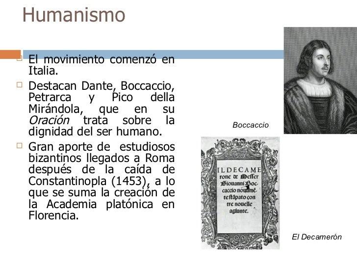 Humanismo y Renacimiento Slide 3