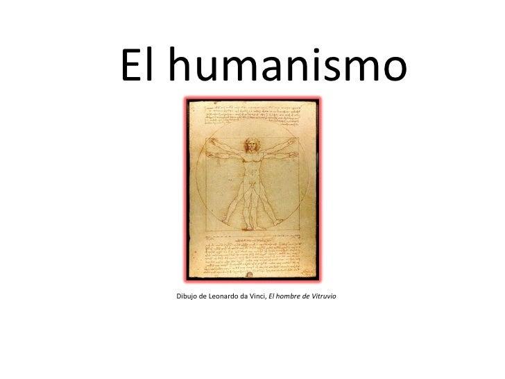 El humanismo Dibujo de Leonardo da Vinci,  El hombre de Vitruvio