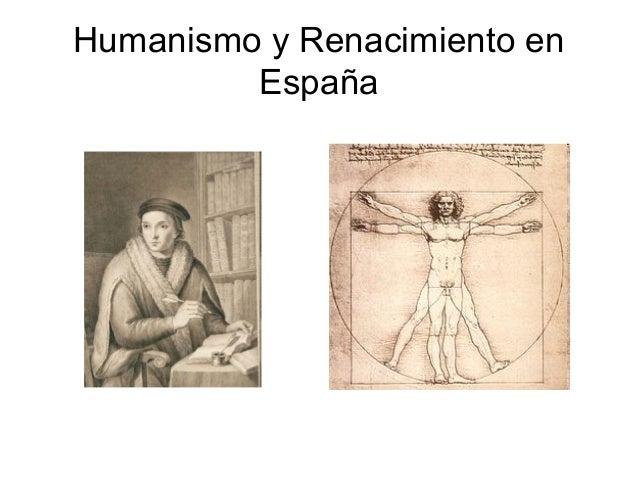 Humanismo y Renacimiento en  España