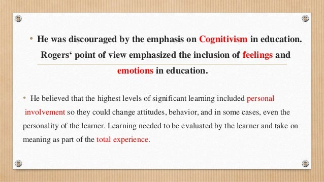 behavioral analysis humanism and constructivism in The formalization of constructivism from a within-the-human perspective is generally attributed to jean piaget mayer states that it promotes behavioral activity too early in the learning process an analysis of the failure of constructivist, discovery, problem-based.