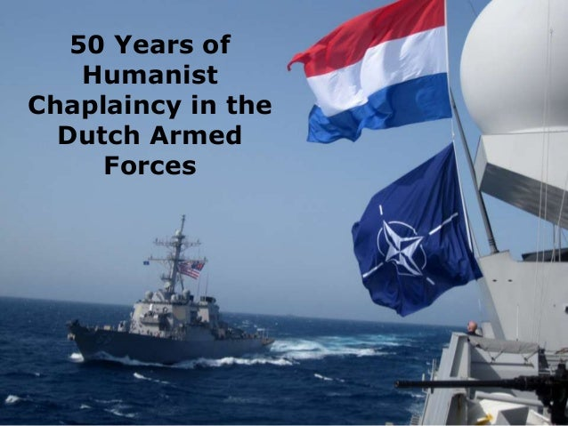 50 Years of Humanist Chaplaincy in the Dutch Armed Forces