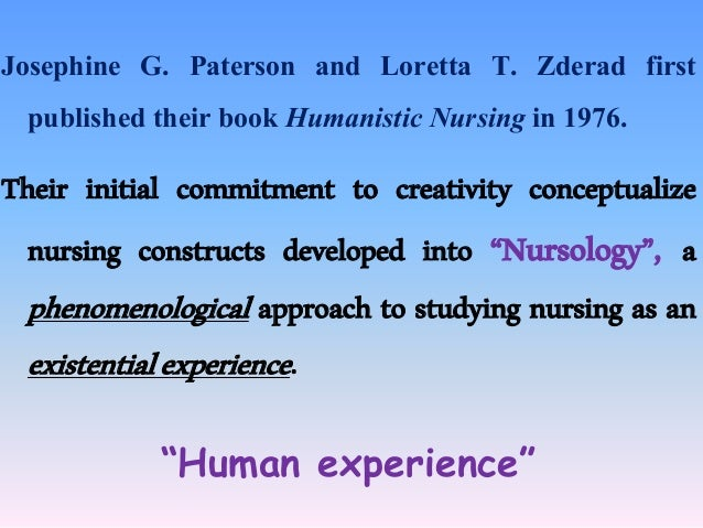 phenomenology thesis nursing