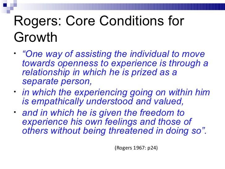 Humanistic psychology carl rogers november 2011
