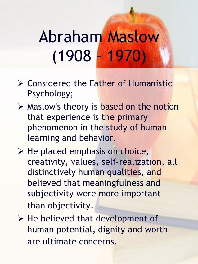 an analysis of the concept of behaviorism and humanism in the psychology The history of psychology continued  for our self-concept and our behavior thus, humanism emerged  as influenced by behaviorism as had american psychology .