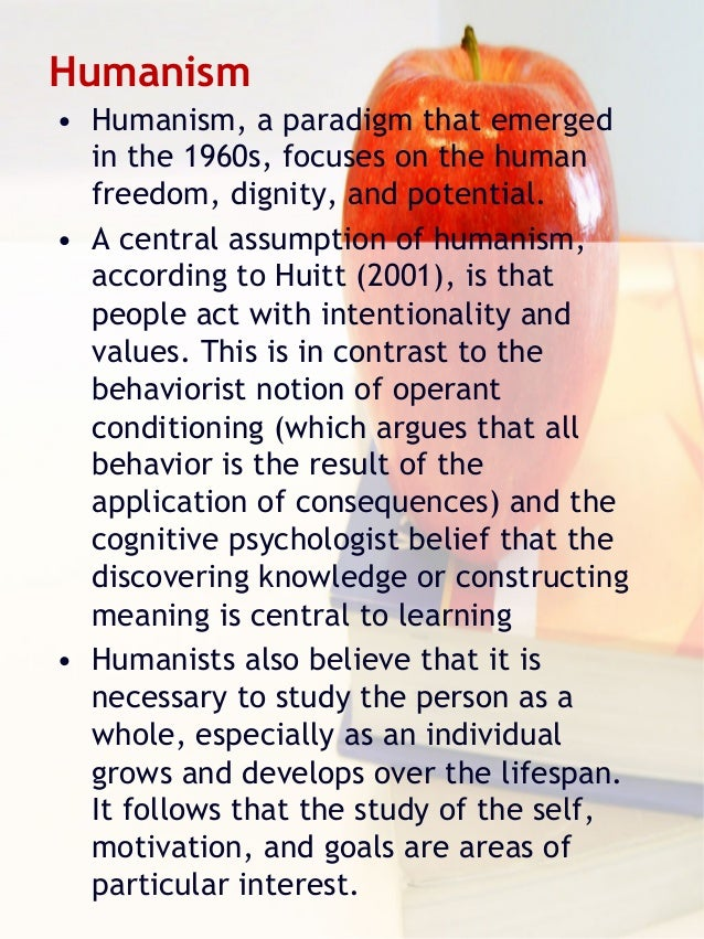 humanistic theory of learning
