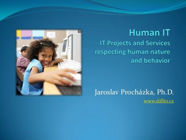 Jaroslav Procházka, Ph.D.               www.differ.cz