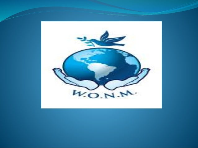 WONM Humanitarian Medicine:  Presented by:  Hon.Dr. Sheila McKenzie, President,  Dr. Humanitarian Services, Public Heal...