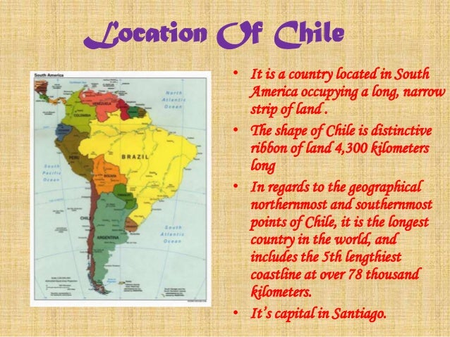 Democracy In The Contemporory World - Chile location