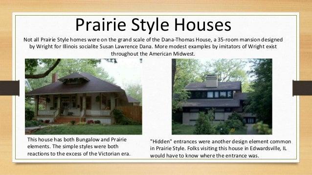 Humanity art nouveau art deco pre war prairie for Prairie style house characteristics