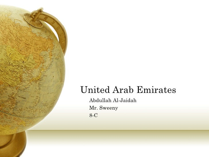 United Arab Emirates Abdullah Al-Jaidah Mr. Sweeny 8-C