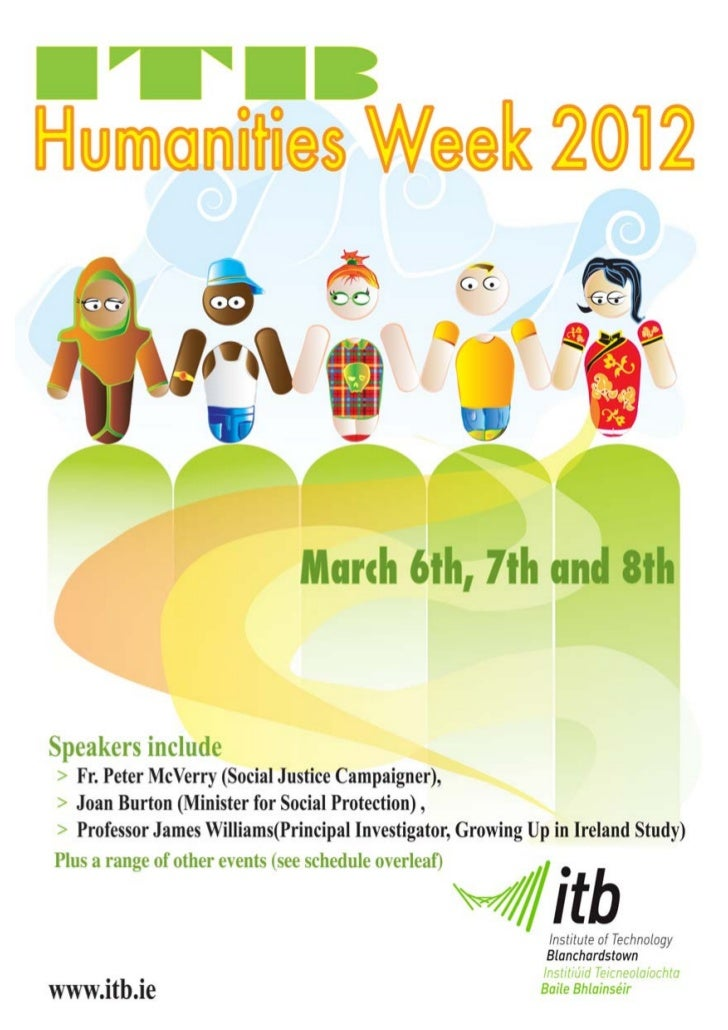 ITB Humanities Week 6 - 8th March 2012