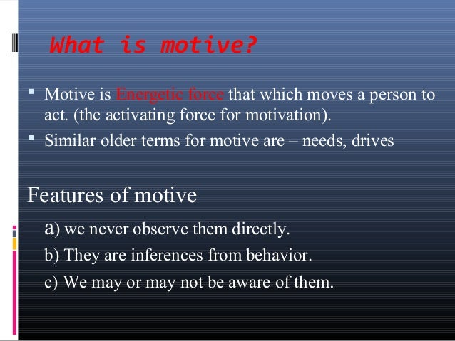 The different reasons why a person may act aggressively