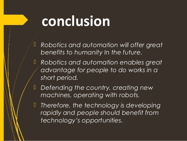advantages and disadvantages of humanoid robots pdf