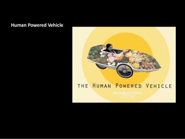 Human Powered Vehicle