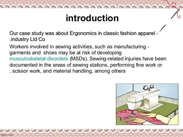ergonomic sewing chair human factors engineering ergonomic sewing