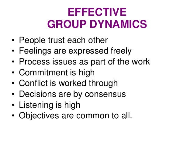 effective group dynamics J educational technology systems, vol 33(3) 205-222, 2004-2005 effective group dynamics in e-learning: case study mercedes fisher, phd gregory s thompson.