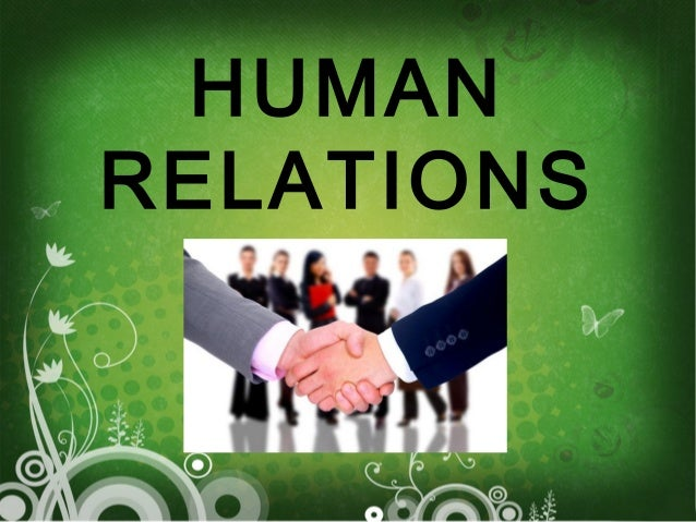 human relations education