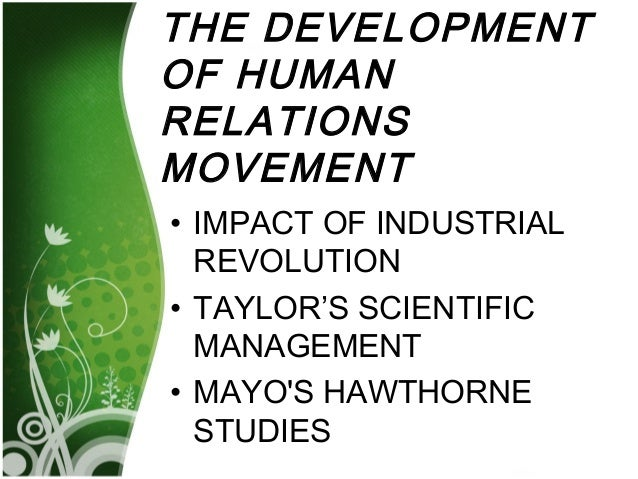 impact of human relation on an Category: hr human relations new zealand title: principles of the human relations without including the effects on work human resource management and.