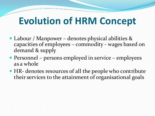 an introduction to the human resorce management Introduction you know that the vitality and vibrancy of organizations depend on  how well they manage their resources—especially their human resources.