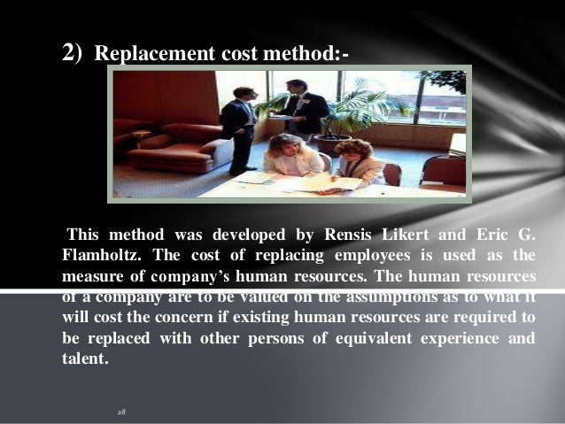 In order to overcome the limitations of replacement cost method, Hekimian and Jones suggested the use of opportunity cost ...