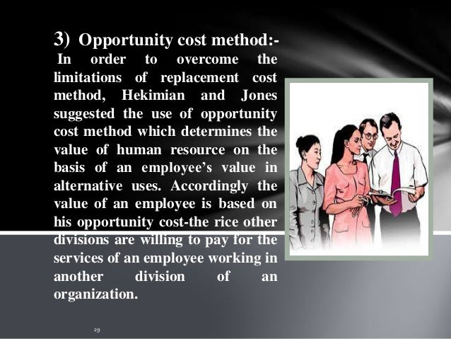 4) Capitalization of salary method:- The advocates of this method Baruch Lev and Aba Schwartz have used the concept of hum...