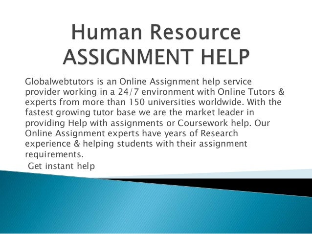Role of myassignmenthelp.net in completion of your HR assignment