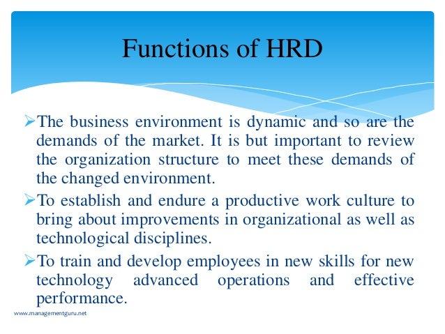 human resource develpment