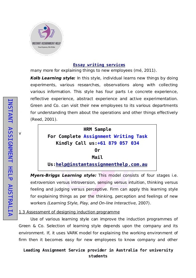 assignment writing services south africa
