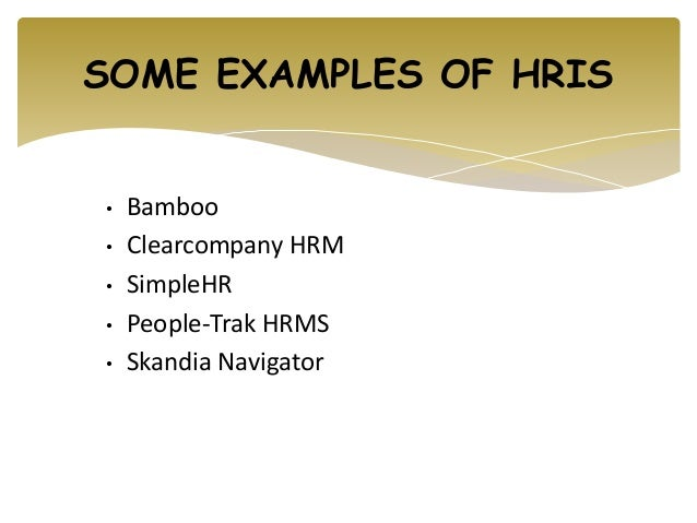 human resources example