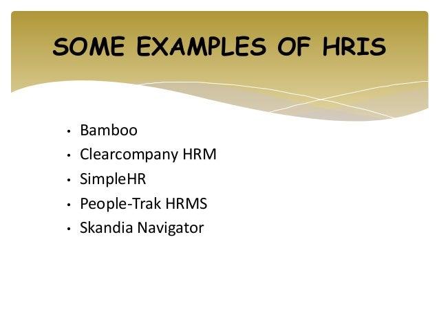 human resource examples