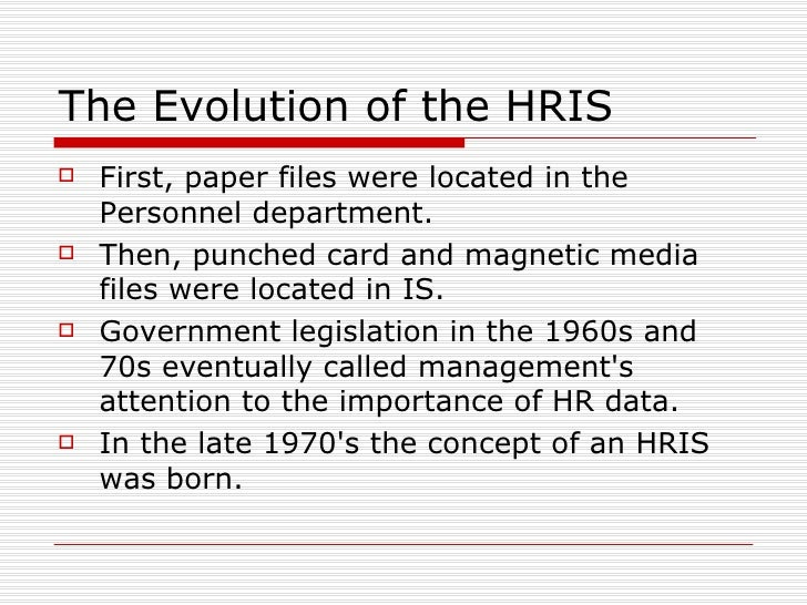 human resource information systems - Lawson Hris System