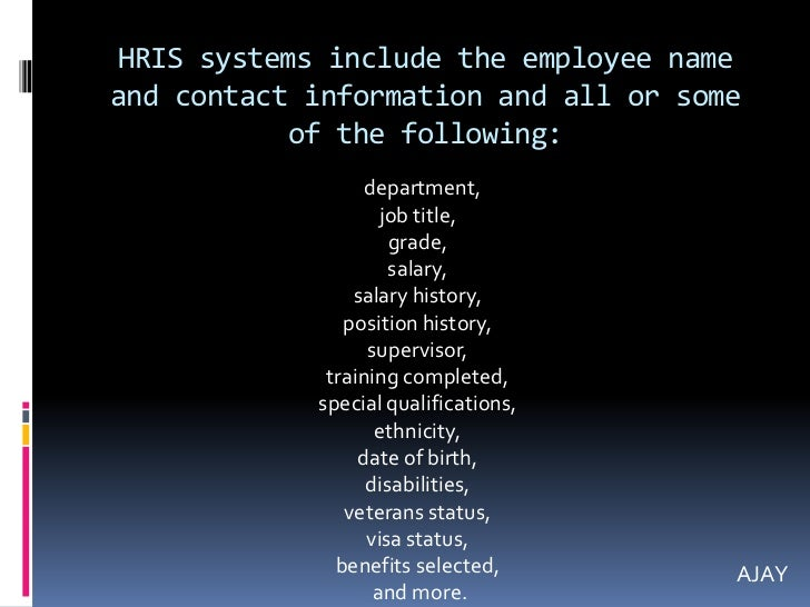 pdf human resource information systems