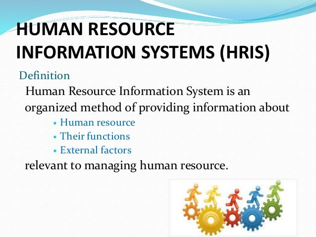 Human Resource Information Systems 1