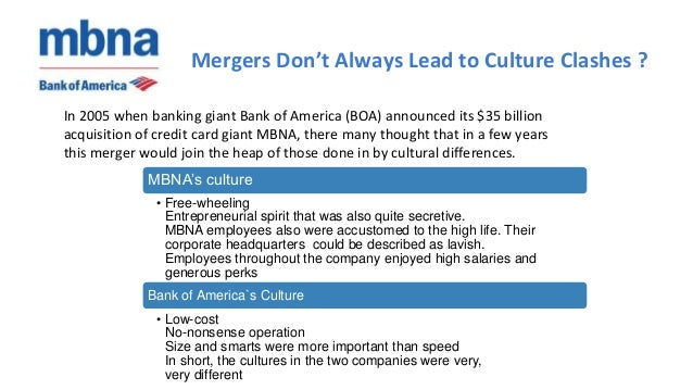 CJA474 Mergers Don't Always Lead to Culture Clashes Paper