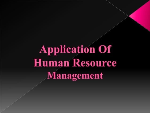 human resource final project Seed grant project final report strategic human resource  management (hrm) and business performance of the regional coal mining  industry in.