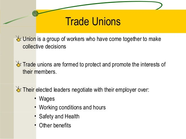 relationship between human resource management and trade unions The relationship to trade unions is often delineated  quality circles were the most visible and easily transplantable feature of japanese human resource management.