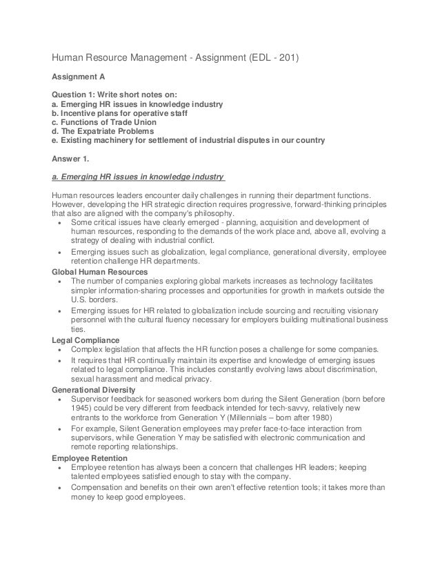 Full HRM Notes | Human Resource Management