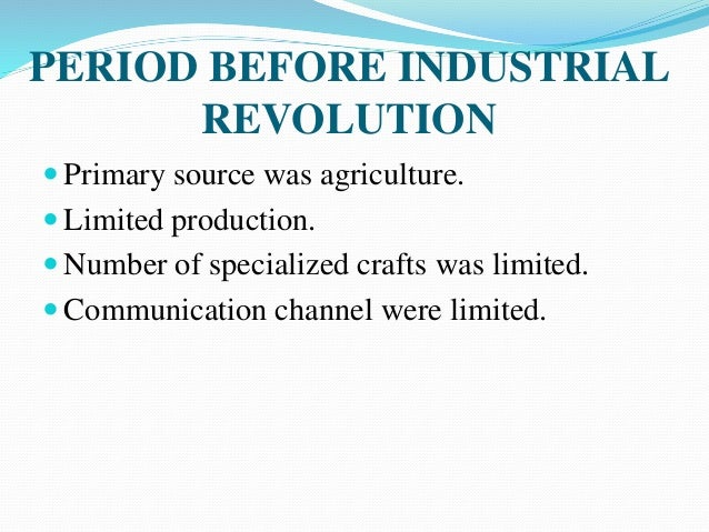 relationship between industrial revolution and scientific management Surrounding the terms in human resource management and development  labor and industrial relations and also the management of employees'  of scientific .