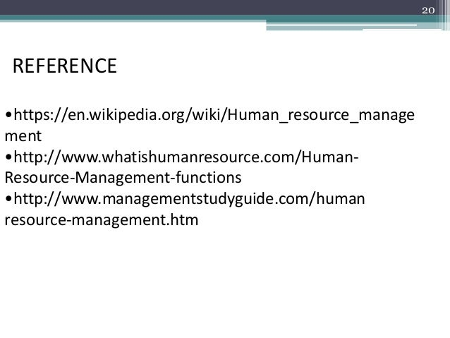 functions of hrm wikipedia