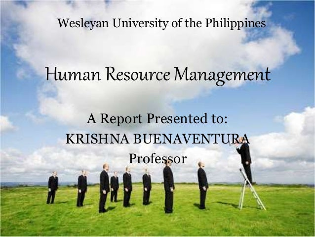 coles human resources management report Effective human resource management strategy systematically organizes all individual human resource management measures to directly influence employee attitude and behavior in a way that leads business to achieve its competitive strategy.