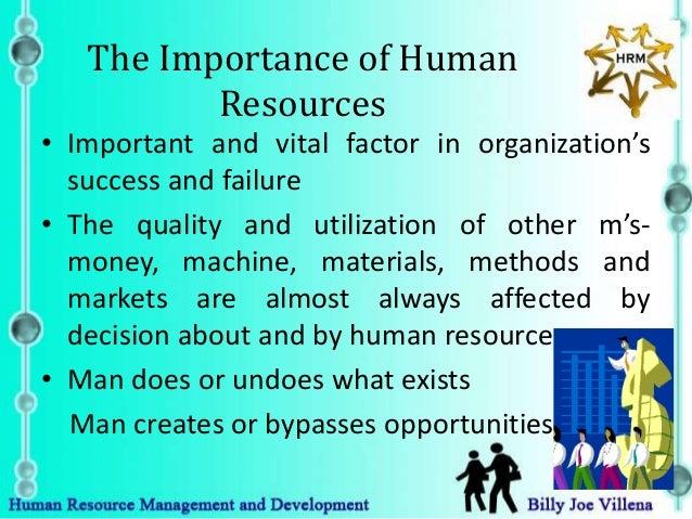 importance of human resource development