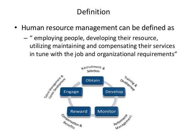 Human resource management planning acquisition development and sanctions