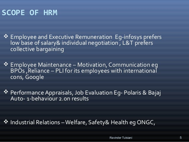 """scope of international hrm Hrm & industrial relations industrial relations – defining the scope male, ft, unionised, manual, """"heavy"""" industries & public sector , restrictive practices."""